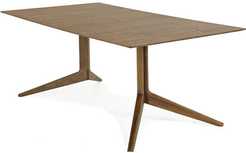 De La Espada light rectangular table