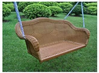 Bay Isle Home Soucy Wicker Porch Swing