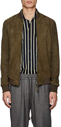Barneys New York Lot 78 x Men's Suede Bomber Jacket