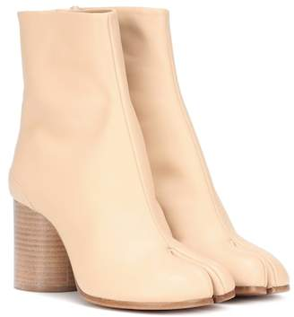 Maison Margiela Tabi leather ankle boots