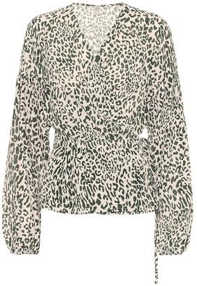 Baum und Pferdgarten Monia printed silk-blend blouse