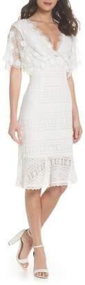 Foxiedox Mavis Scalloped Lace Dress