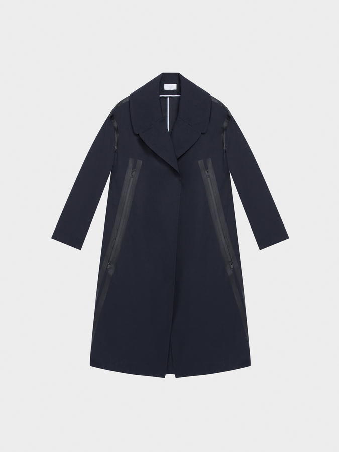DKNYDKNY Pure Trench Coat With Detachable Wool Vest