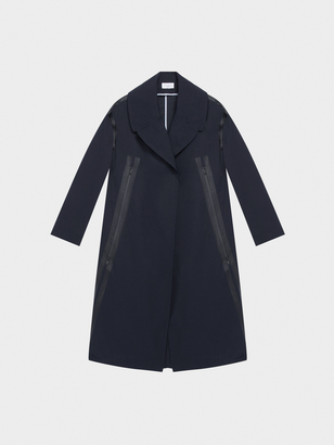 DKNY Pure Trench Coat With Detachable Wool Vest $898 thestylecure.com
