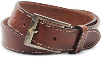 Tommy Bahama Men's Stitched Leather Belt