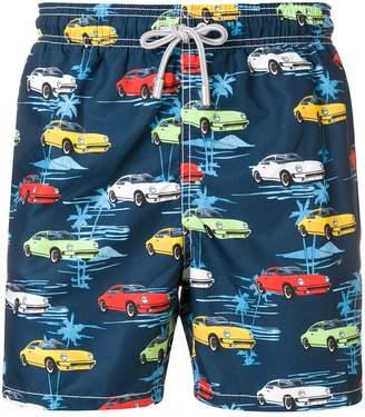 MC2 Saint Barth print drawstring swim shorts