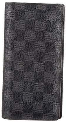 Louis Vuitton Damier Graphite Brazza Wallet