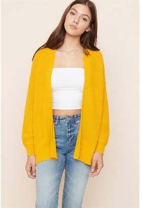 Garage Oversized Open Front Cardigan - FINAL SALE