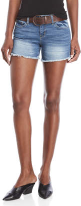 Dollhouse Belted Denim Shorts