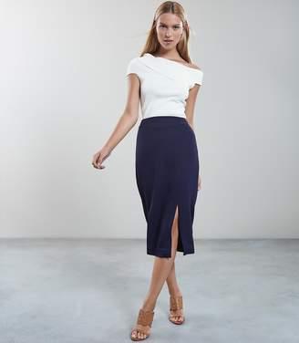 Reiss Beau Double Split Pencil Skirt