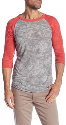 Alternative 'Big League' Burnout Baseball T-Shirt