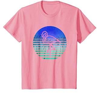 Flamingo Shirt - Vintage Retro Neon Flamingo T Shirt