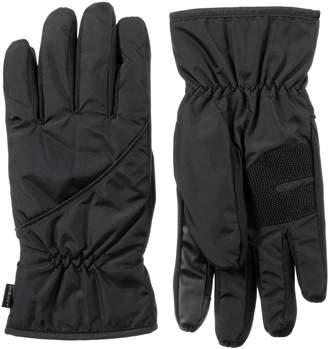 Isotoner Men's SleekHeat smarTouch Pieced Gloves