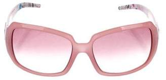Fendi Gradient Square Sunglasses