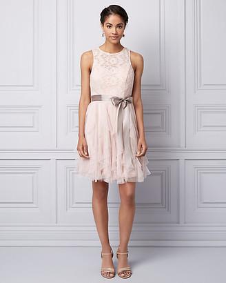 Le Château Lace & Sparkle Mesh Illusion Party Dress