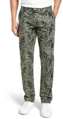 Bonobos Foundation Print Slim Fit Trousers