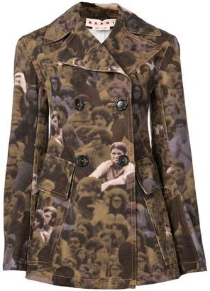 Marni photographic print jacket