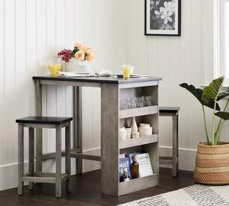 Pottery Barn Dustin Counter-Height 3-Piece Dining Set