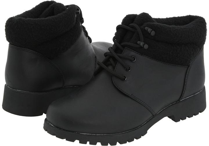 Propet Snow Walker (Black/Black) - Footwear