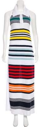 Rosie Assoulin Halter Maxi Dress