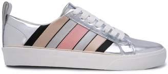 Diane von Furstenberg striped sneakers