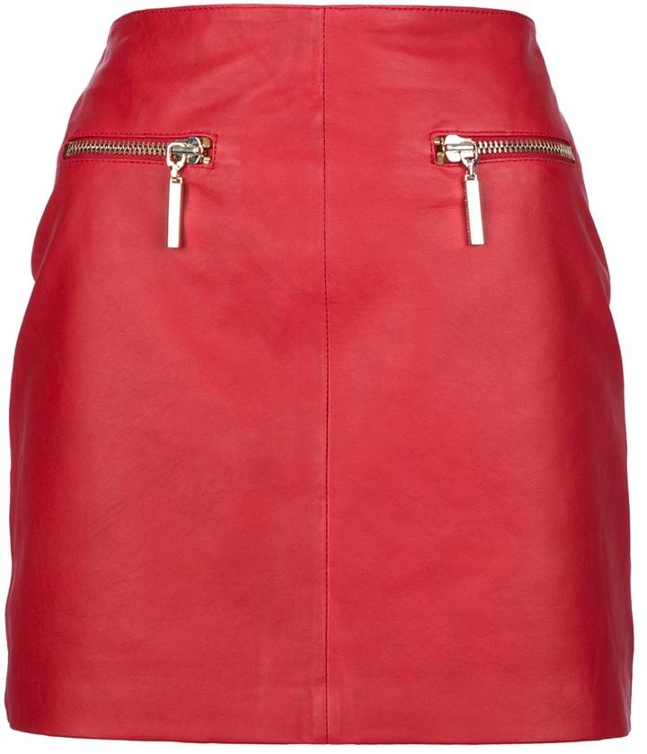 Hotel Particulier high waisted mini skirt