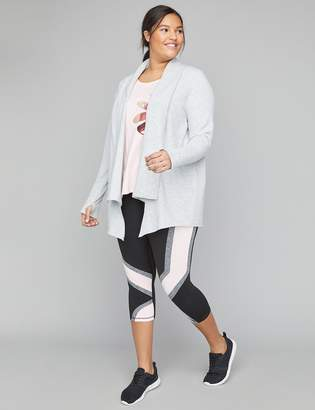 Lane Bryant French Terry Active Overpiece