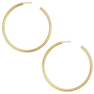 Women's Argento Vivo Hoop Earrings $68 thestylecure.com