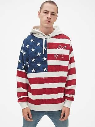 Gap + GQ Balmain Pullover Hoodie