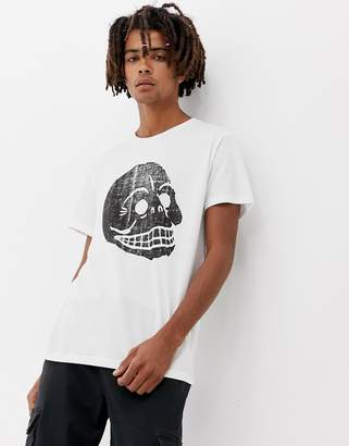 Cheap Monday Standard T-Shirt With Copy skull