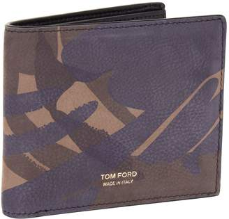 Tom Ford Camouflage Bifold Wallet