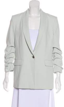 Alice + Olivia Structured Shawl-Lapel Blazer