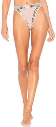 Norma Kamali Luca Stud Bikini Bottom