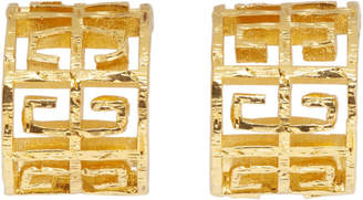 Givenchy Gold 4G Hoops