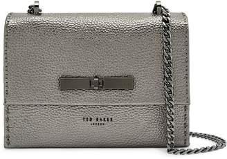 Ted Baker Mini Juliah Concertina Leather Crossbody Bag