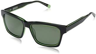 Original Penguin Men's the Merlin Sun Polarized Rectangular Sunglasses