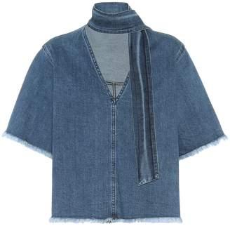See by Chloe Stretch-cotton denim shirt