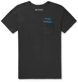 Mollusk Ziggy Zaggy Printed Cotton-Jersey T-Shirt