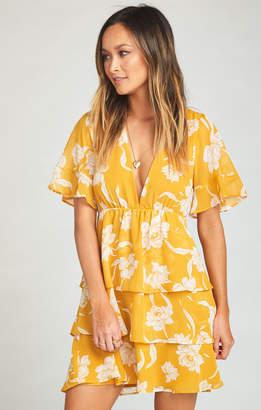 Show Me Your Mumu Dulce Dress ~ Bloom Gold