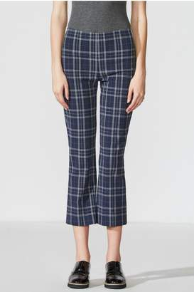 Bailey 44 Cropped Plaid Pant
