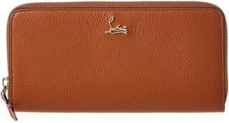 Christian Louboutin Panettone Leather Ziparound Wallet