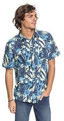 Quiksilver Men's Hippy Beach Short Sleeve Woven