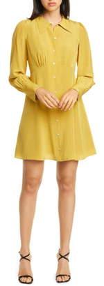 Kate Spade Long Sleeve Silk Shirtdress