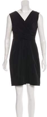 Diane von Furstenberg Neeta Crisp Poplin Mini Dress