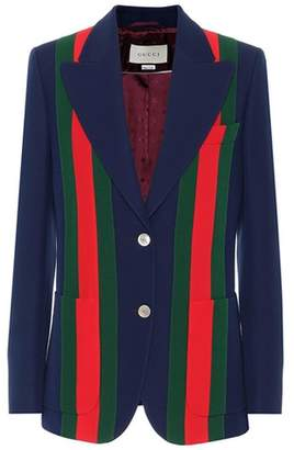 Gucci Wool and silk jacket