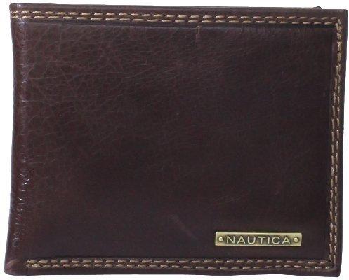 Nautica Men's Strake Passcase Wallet