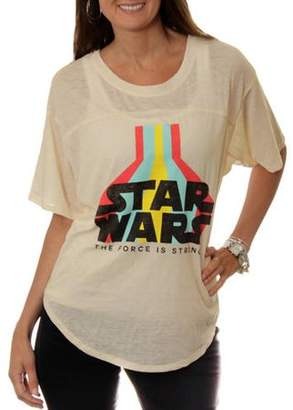 Star Wars Juniors' Hi-Low Ringer Tee