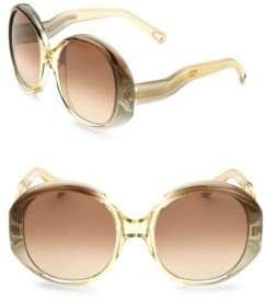 Chloé Qleo Round Sunglasses