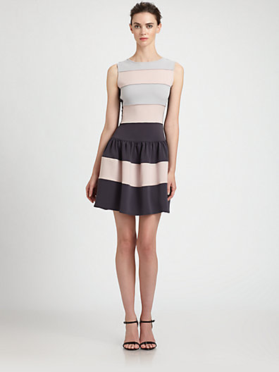 Mark & James by Badgley Mischka by Badgley Mischka Colorblock Dress