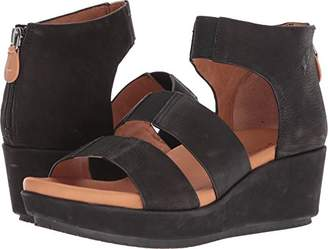 Gentle Souls by Kenneth Cole Women's Milena Triple Stretch Strap Platform Sandal Sandal